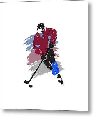 Colorado Avalanche Player Shirt Metal Print by Joe Hamilton