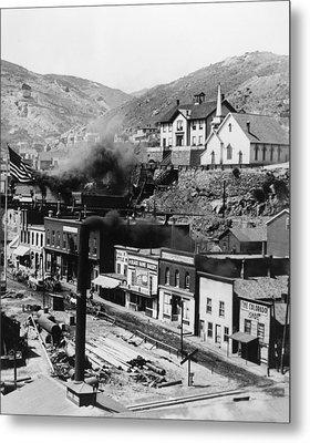 Colorado: Black Hawk, C1899 Metal Print by Granger