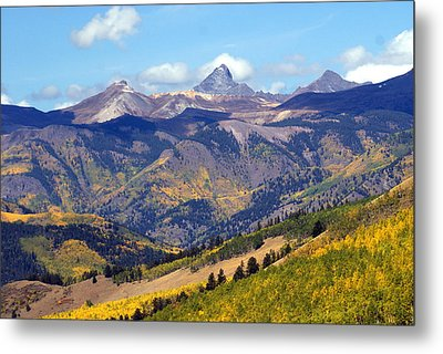 Colorado Mountains 1 Metal Print by Marty Koch