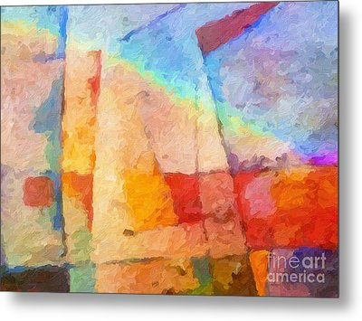Colorful Coast Metal Print by Lutz Baar