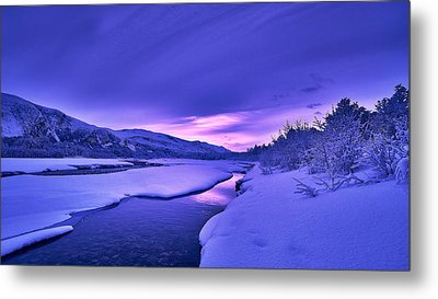 Colorful Morning Metal Print by Tor-Ivar Naess
