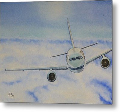 Come Fly With Me.... Plane Metal Print by Kelly Mills