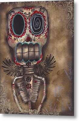 Coming For You Metal Print by  Abril Andrade Griffith
