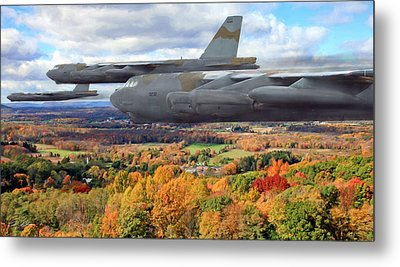 Coming Home Metal Print by Peter Chilelli