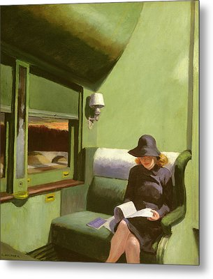 Compartment C Metal Print by Edward Hopper