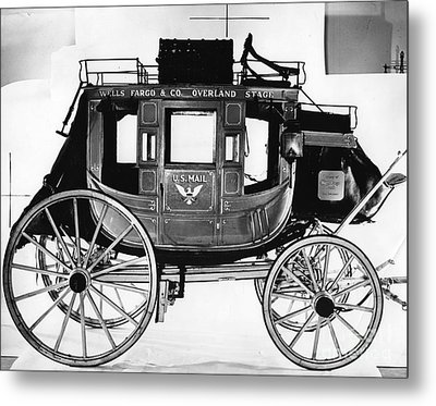 Concord Stagecoach Metal Print by Photo Researchers, Inc.