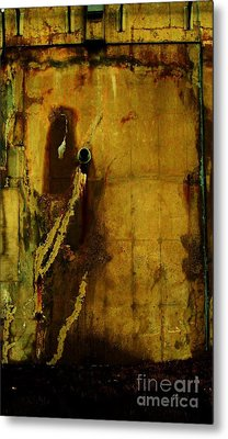 Concrete Canvas Metal Print by Reb Frost