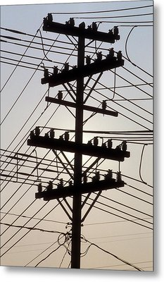 Connection Overload Metal Print by Gerard Fritz