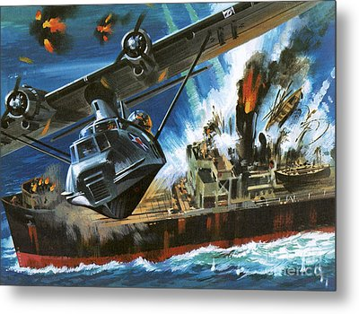 Consolidated Pby Catalina Metal Print by Wilf Hardy