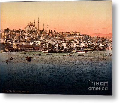 Constantinople Metal Print by Celestial Images