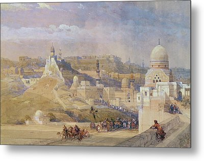 Constantinople Metal Print by David Roberts