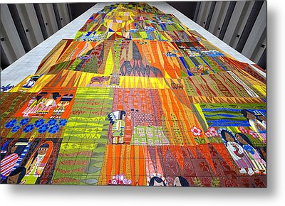 Contemporary Mosaic Metal Print by David Lee Thompson