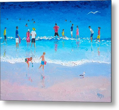 Cooling Off Metal Print by Jan Matson