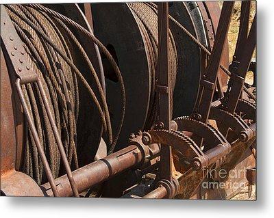Cords That Bind Metal Print by Jennifer Apffel