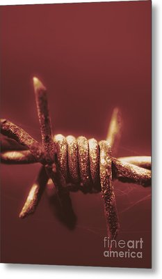 Corrosion Of Civil Liberties Metal Print by Jorgo Photography - Wall Art Gallery