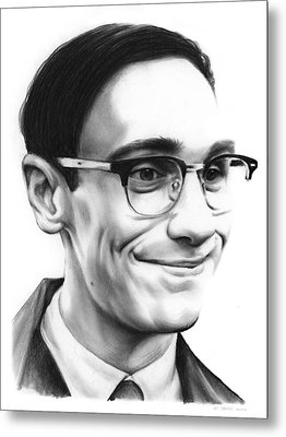 Cory Michael Smith Metal Print by Greg Joens