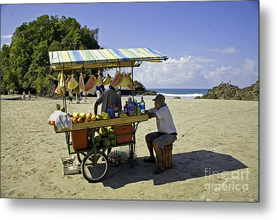 Costa Rica Vendor Metal Print by Madeline Ellis