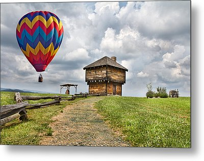 Country Cruising  Metal Print by Betsy C Knapp