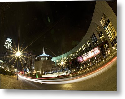 Country Music Hall Of Fame Metal Print by Giffin Photography