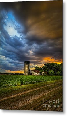 Country Tempest Metal Print by Marvin Spates