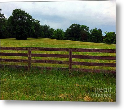 Countryside Metal Print by Josephine W