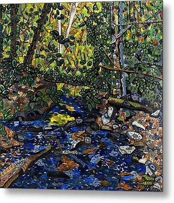 Crabtree Creek Metal Print by Micah Mullen