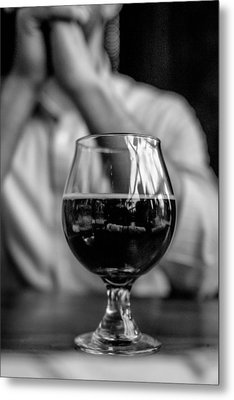 Craft Brew Metal Print by Michael Flores
