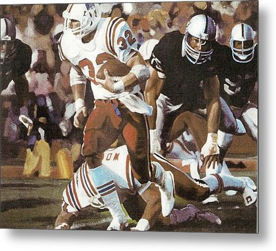 Craig James Breaking Loose Metal Print by Perrys Fine Art