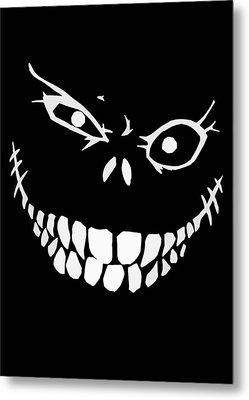 Crazy Monster Grin Metal Print by Nicklas Gustafsson