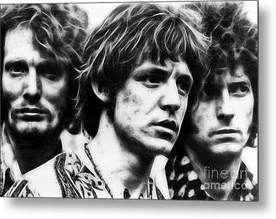 Cream Eric Clapton Metal Print by Marvin Blaine