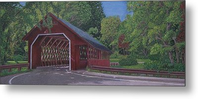 Creamery Bridge Metal Print by Robert Sewell