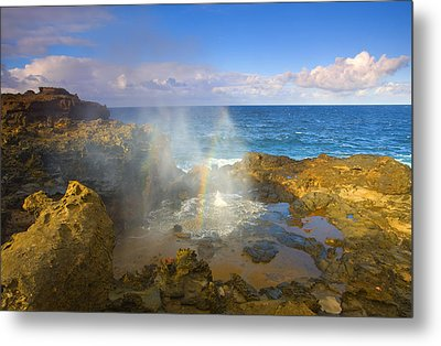 Creating Miracles Metal Print by Mike  Dawson