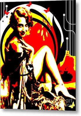Crimson Moon Metal Print by Chris Andruskiewicz