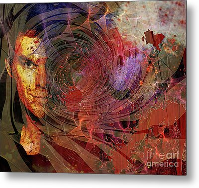 Crimson Requiem Metal Print by John Robert Beck