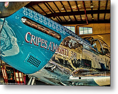 Cripes Almighty Metal Print by Tommy Anderson