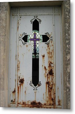 Cross To Cross Metal Print by Nell Werner