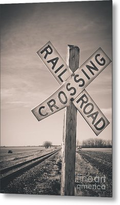 Crossings Metal Print by Christina Klausen