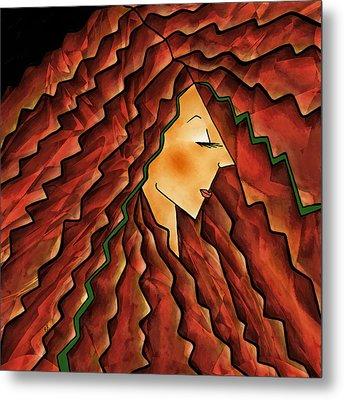 Crowning Glory Metal Print by Brenda Bryant