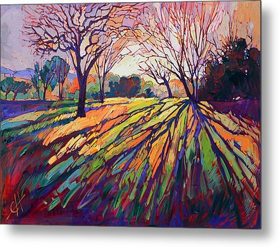 Crystal Light Metal Print by Erin Hanson