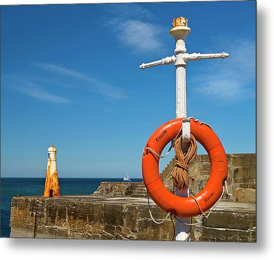 Cullen Summer Colours  Metal Print by Bill Buchan