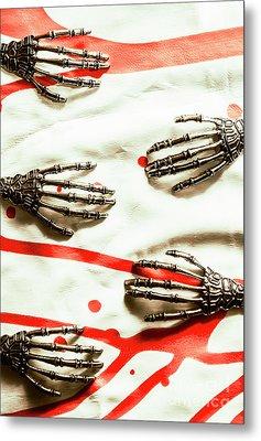 Cyborg Death Squad Metal Print by Jorgo Photography - Wall Art Gallery