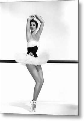 Cyd Charisse, 1955 Metal Print by Everett
