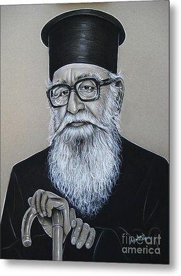 Cypriot Priest Metal Print by Anastasis  Anastasi
