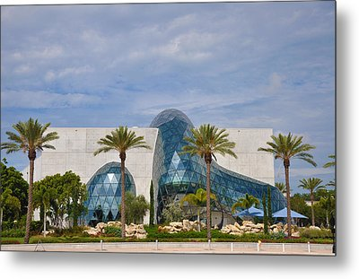 Dali Museum Metal Print by Bill Cannon