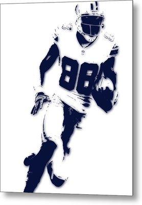 Dallas Cowboys Dez Bryant Metal Print by Joe Hamilton