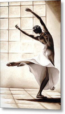 Dance Finesse Metal Print by Richard Young