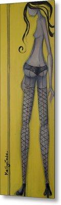 Dancer Metal Print by Kelly Jade King