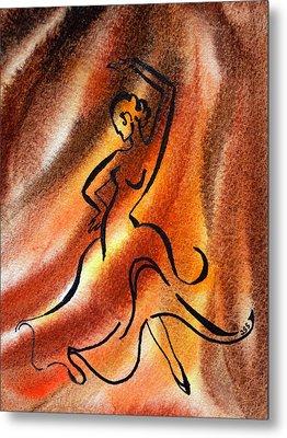 Dancing Fire IIi Metal Print by Irina Sztukowski