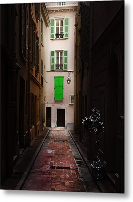 Dark And Light Metal Print by Cecil Fuselier