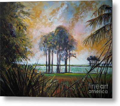 Darkest Before The Dawn Metal Print by Michele Hollister - for Nancy Asbell